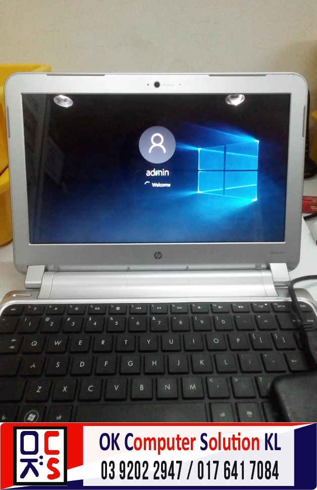 [SOLVED] FORMAT BACKUP HP PAVILLION DM1 | REPAIR LAPTOP CHERAS 1