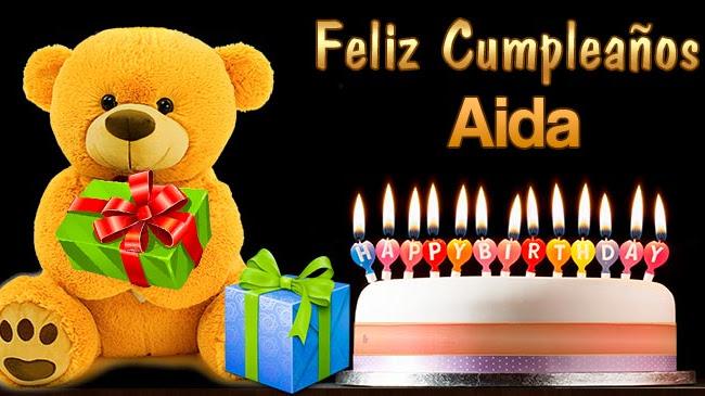 Feliz Cumpleaños Aida
