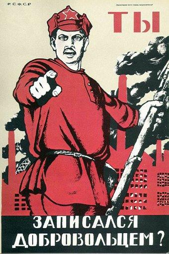 propaganda plakatowa rosja