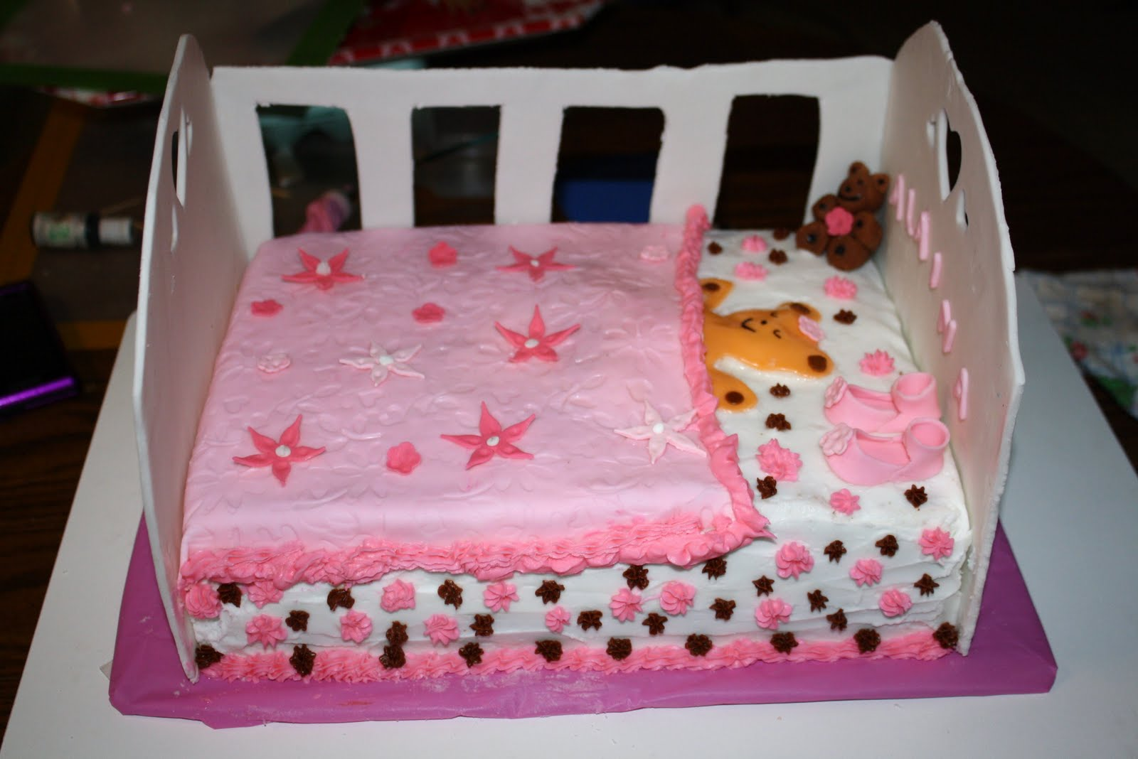 Teresa S Sweet Boutique Crib Cake For Alaina This Is