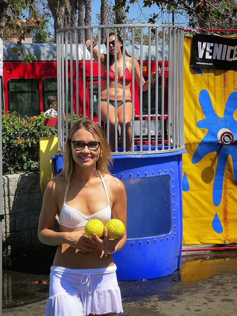 Dunk tank girls naked idea