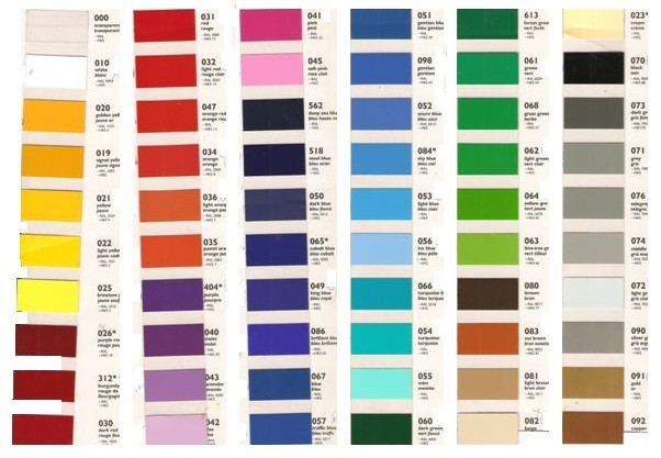Mapiurka adhesivos decorativos ba carta de colores mapiurka - Paleta de colores para paredes interiores ...