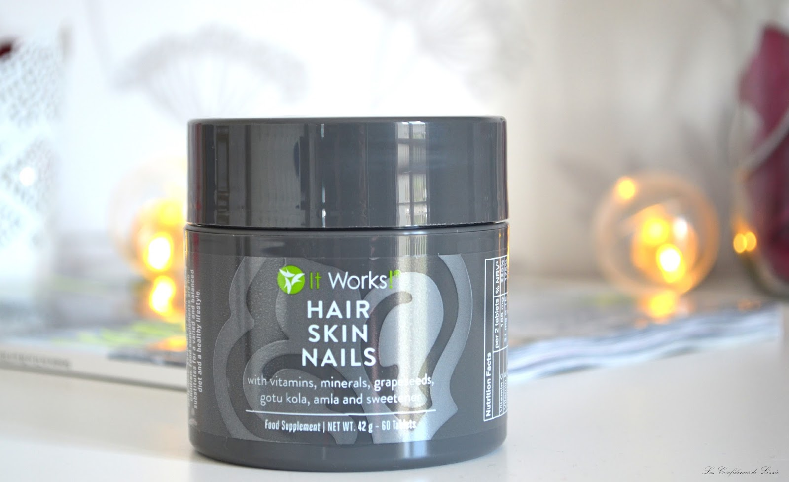 ... autre mais pour vous partager monexpérience avec le Hair Skin Nails