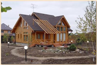wood style house 13