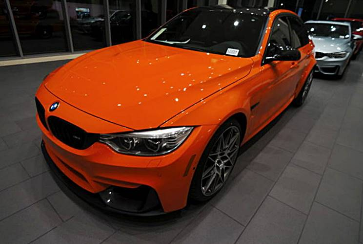 2017 BMW M3 Sedan is on Fire