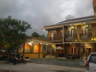 Hotel di Pantai Barat Pangandaran