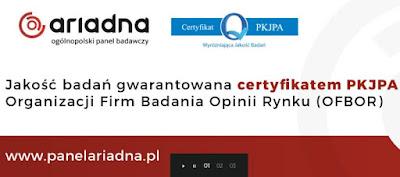 PanelAriadna - certyfikat, Panel Ariadna