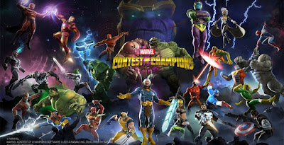 Download Game Android Gratis Marvel Contest of Champions apk + obb