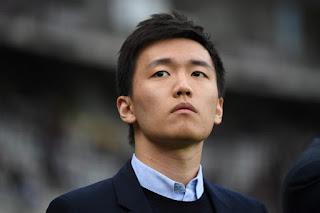 photo of Steven Zhang president of Inter Milan