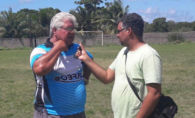 Entrevista com o treinador Paulo Marcos