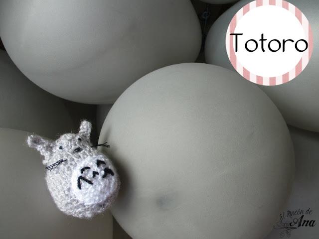 Totoro en amigurumi