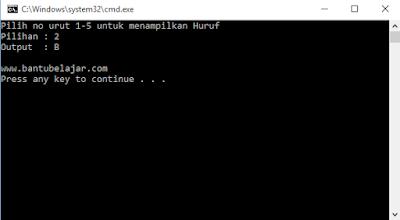 Array Pada C++ Beserta Contoh Programnya