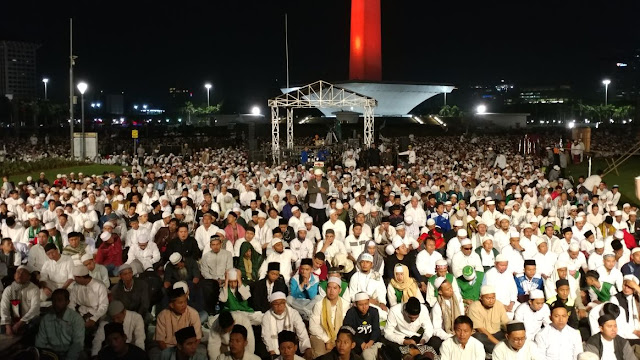 Video live Reuni Alumni 212 di Monas