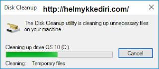 Cara menghapus folder windows old