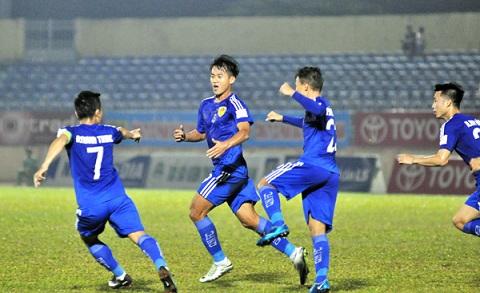 Cầu thủ Hà Minh Tuấn.
