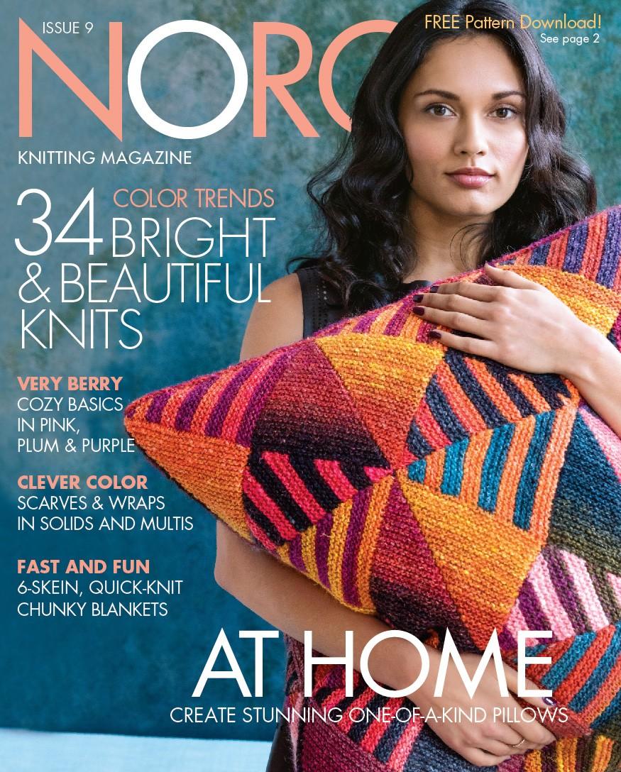 Knitting Magazine Cover : The knitting needle and damage done noro magazine