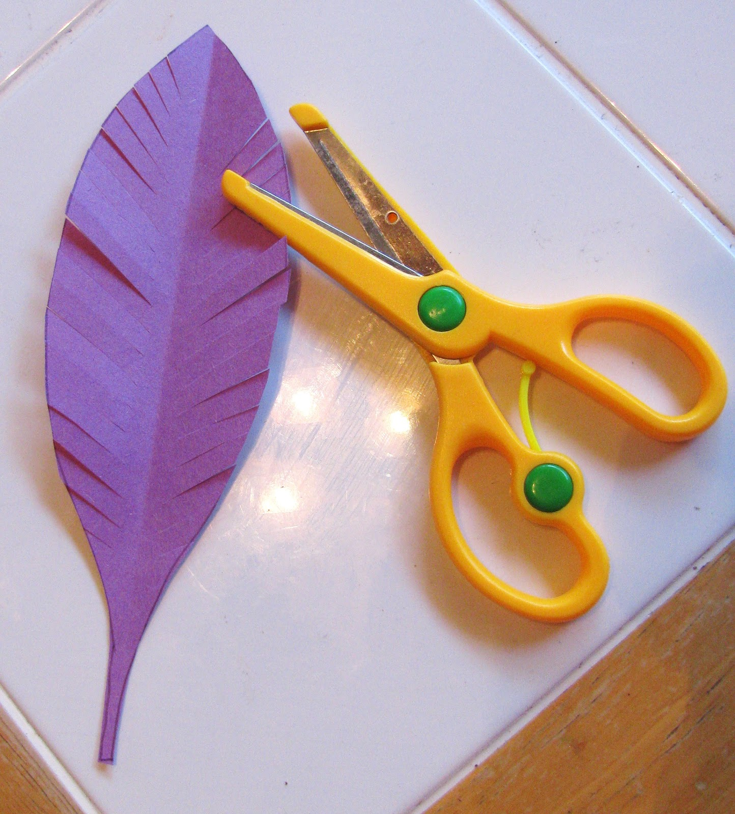 Homeschool Preschool Scissor Skills