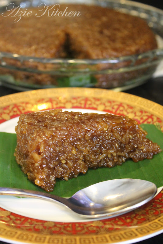 Kuih Wajik Aka Nasi Manis By Azie Kitchen