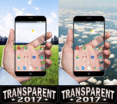 Cara Mengganti Wallpaper Android Menjadi Transparan
