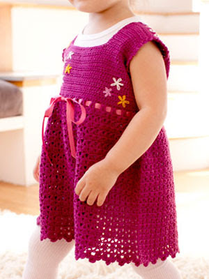 Beat the Heat: Crochet Summer Toddler Dress Free Patterns