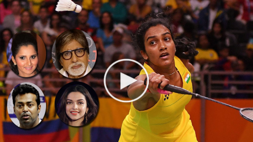 Celebs Reacts to PV Sindhu Victory at Rio Olympics 2016