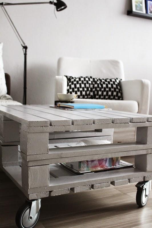 Skrzynki, palety i nie tylko - meble DIY - Make Home Prettier