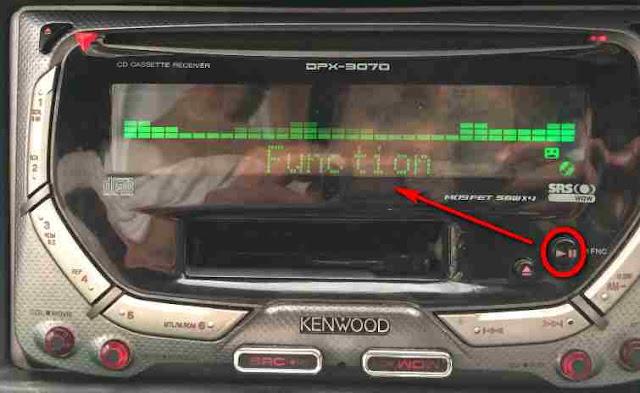 Hidupkan Aux In Kenwood DPX-3070
