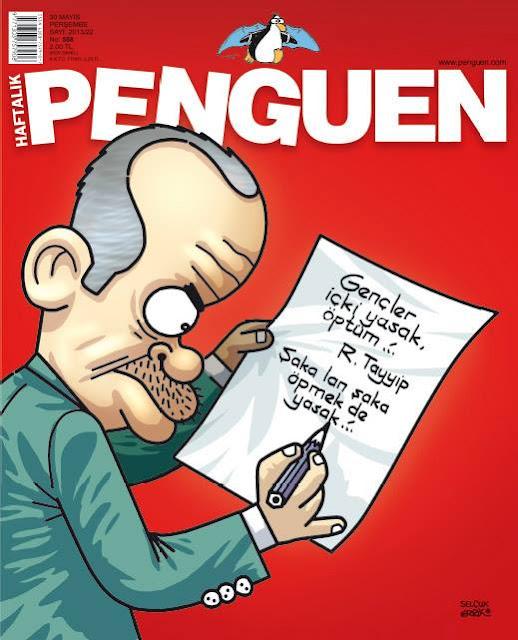 Penguen Dergisi   30 Mayıs 2013 Kapak Karikatürü