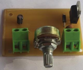 schema electrique alimentation réglable avec LM317