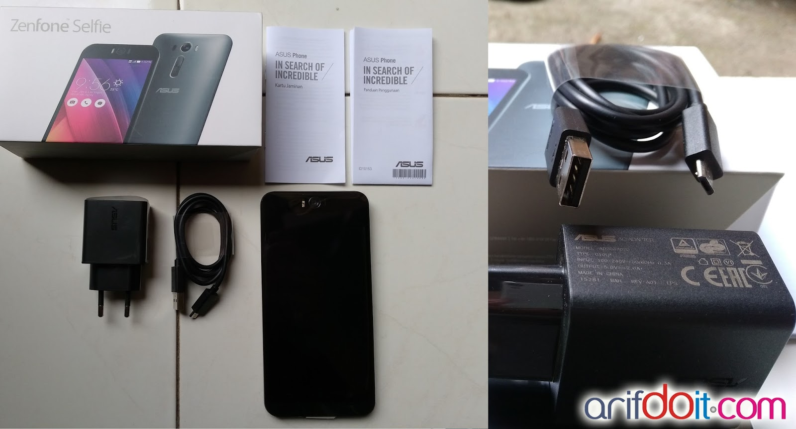 Unboxing Asus Zenfone 2 Selfie