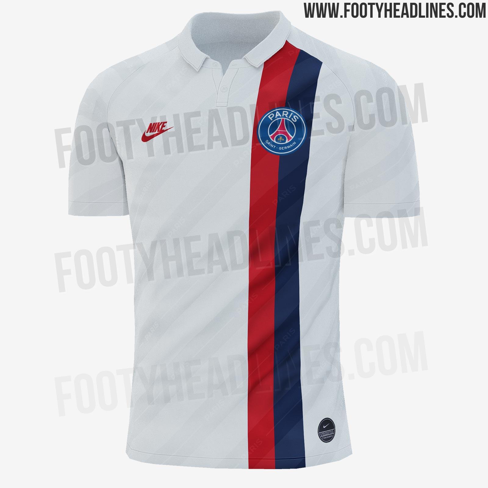 Club : Des illustrations de deux maillots du PSG 20192020
