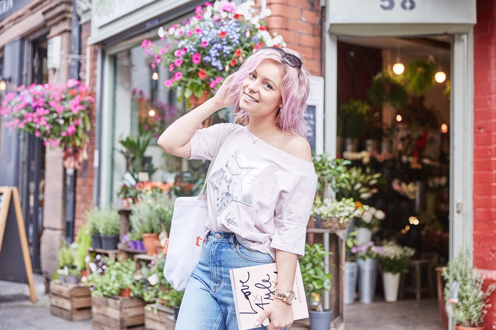 pink hair autumn trends