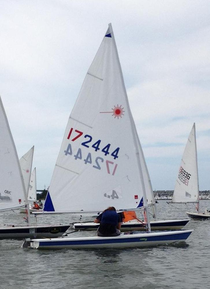 laser sailboat hull - photo #45