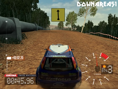 Colin Mcrae Rally 3 PS2 ISO - Download Game PS1 PSP Roms Isos