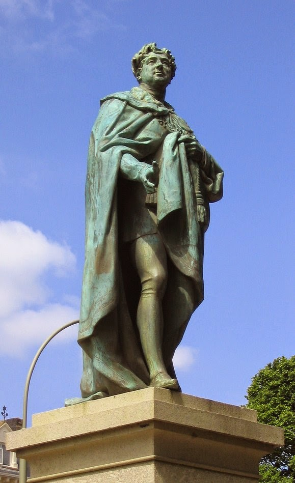Statue of George IV, Brighton