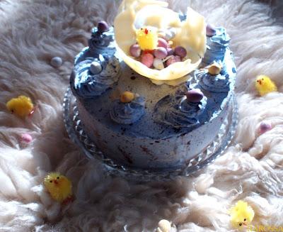 TORT WIELKANOCNY/ EASTER EGG CAKE
