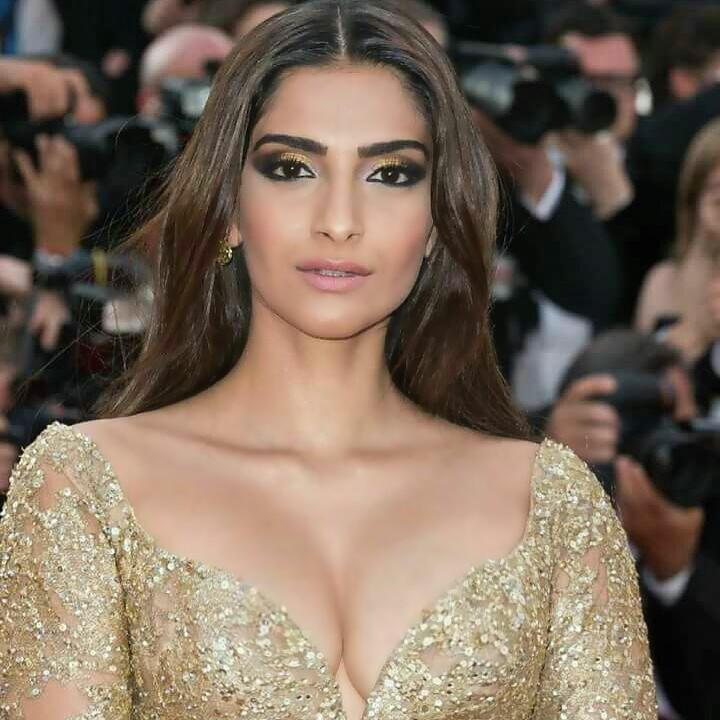 Sonam Kapoor Hot Red Carpet Look Hd Photos - Beautiful Actress-5802