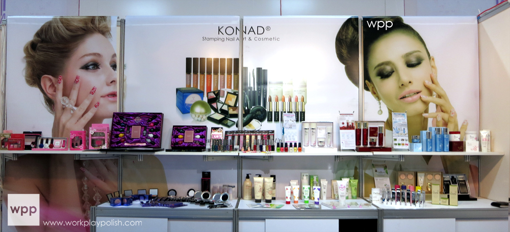 Cosmoprof North America 2013 Konad Booth