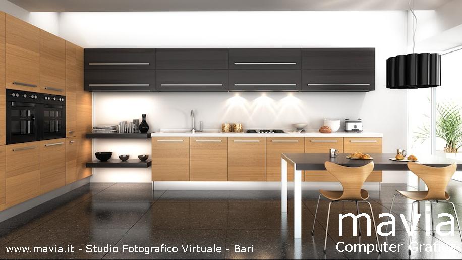 Arredamento di interni 3d rendering interni modello 3d for Programma per cucine