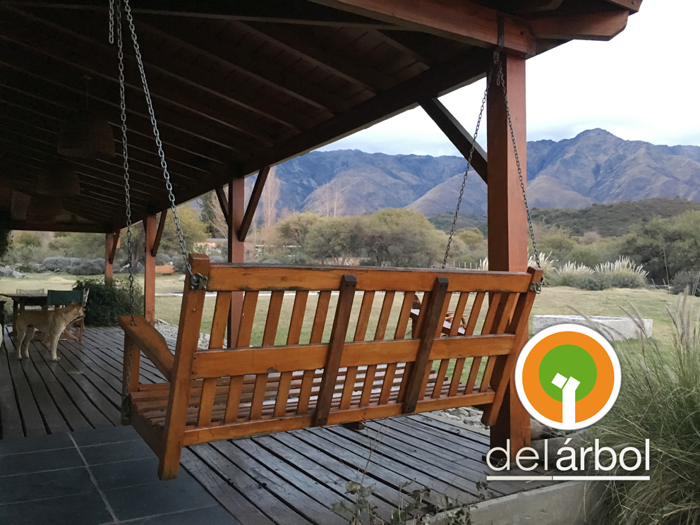 Del arbol f brica de muebles de madera hamaca de madera for Fabrica de muebles de madera
