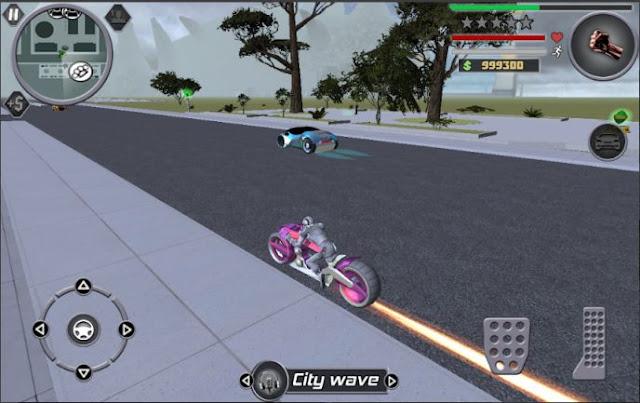 Game Perang Terbaru Offline Space Gangster 2 MOD APK