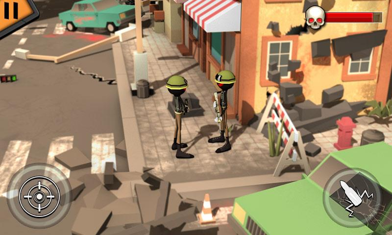 Stickman Shooter Modern Warrior MOD APK terbaru