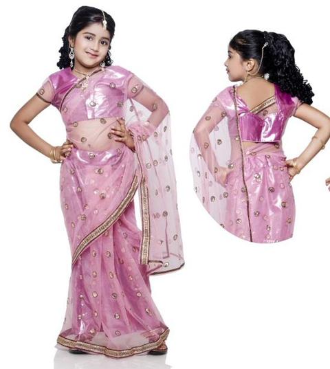 baju sari india untuk anak anak