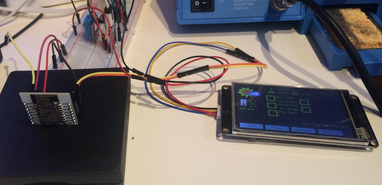Nextion HMI - Domoticz on Raspberry - Let's Control It