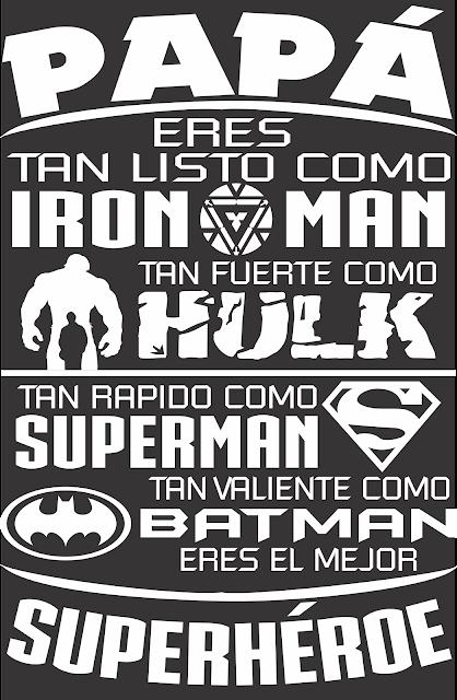Papa Superheroe