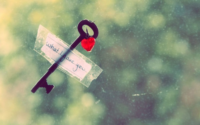 key to my heart love wallpaper