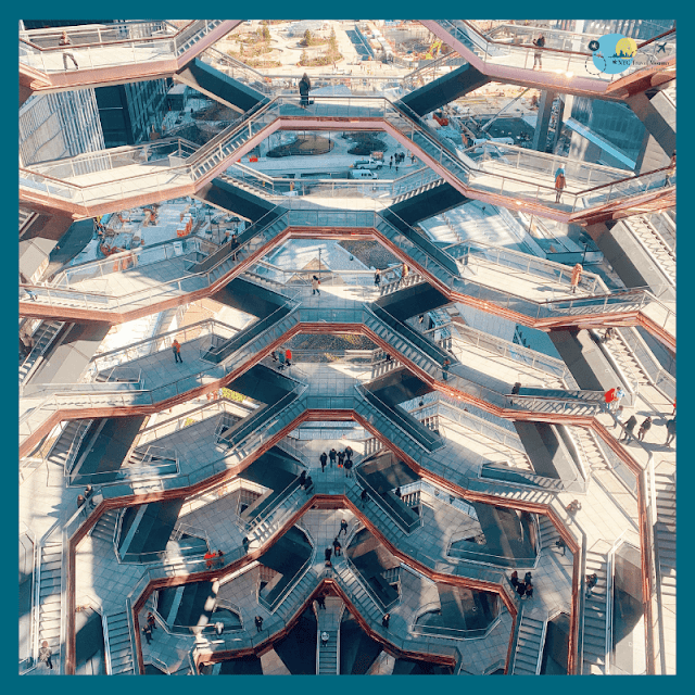 Visit the Vessel at Hudson Yards in NYC