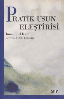 Immanuel Kant - Pratik Usun Eleştirisi