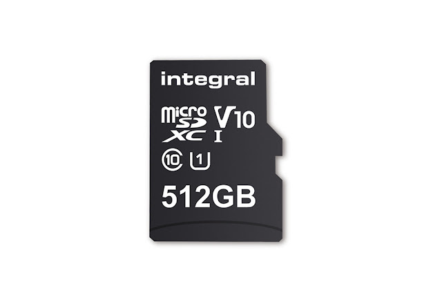 The first 512GB microSD card arrives in February