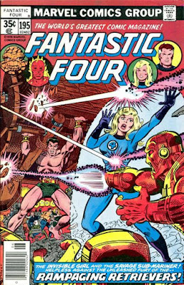Fantastic Four #195, Sub-Mariner